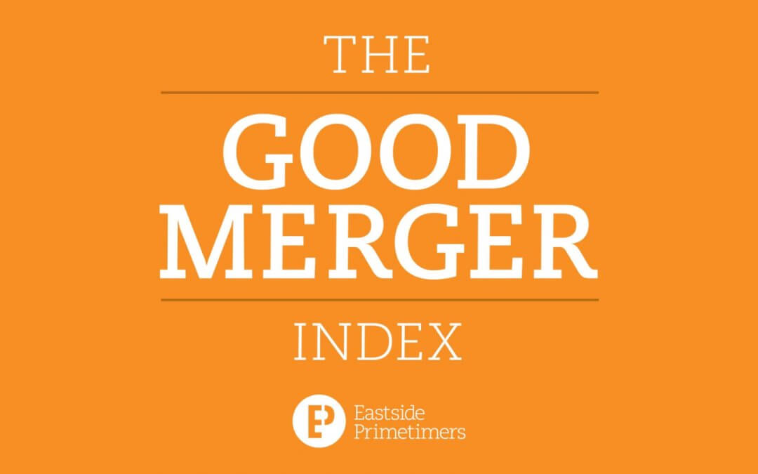 Eastside Primetimers launch latest Index of charity mergers