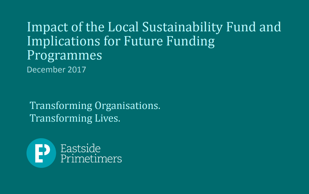 Local Sustainability Fund Programme Evaluation