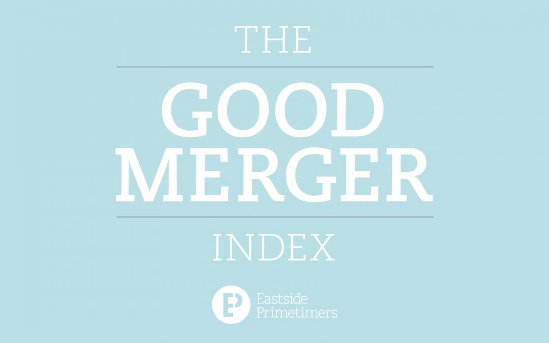 Eastside Primetimers launch fifth annual Index of charity mergers