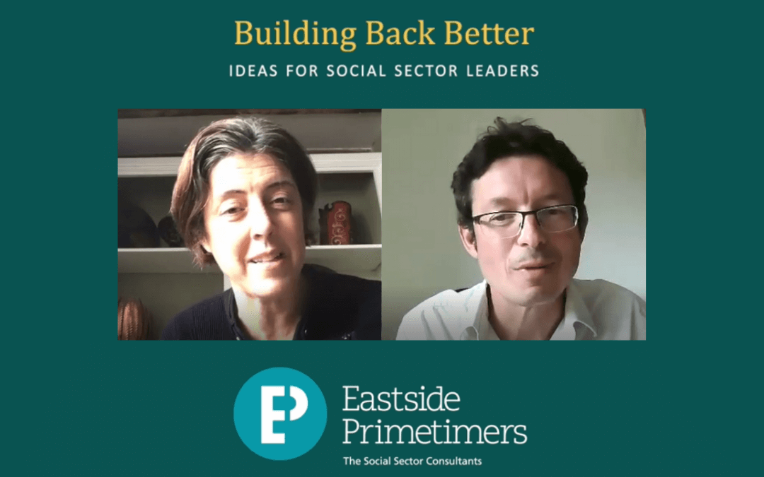 #BuildBackBetter: interview with Kate Lee, Alzheimer's UK
