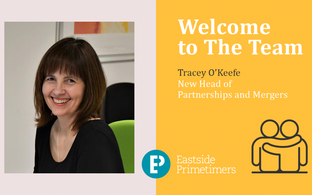 Tracey O'Keefe joining Eastside Primetimers central team as partnerships head